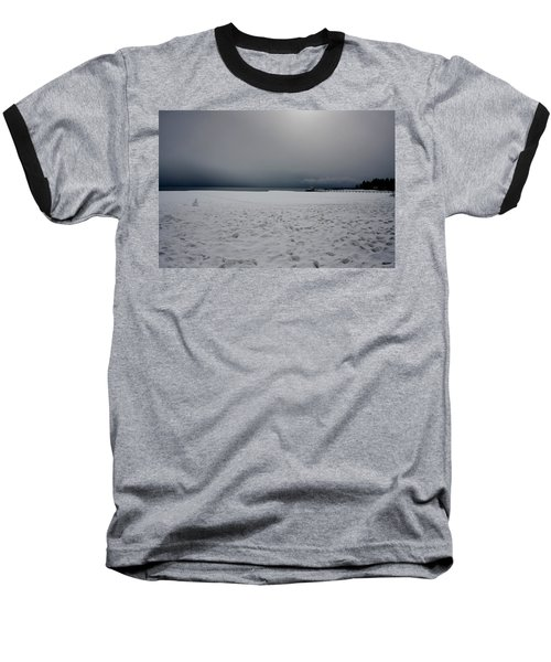 Lake Tahoe Winter Baseball T-Shirt