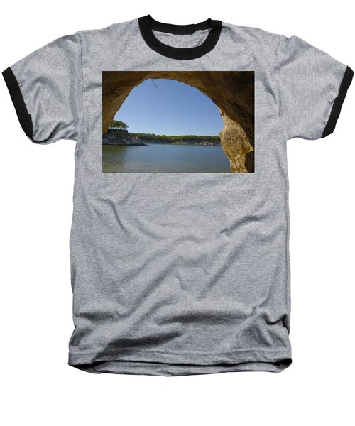 Lake Texoma Eisenhower State Park  Texas Baseball T-Shirt