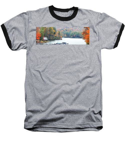 Lake Toxaway In The Fall Baseball T-Shirt