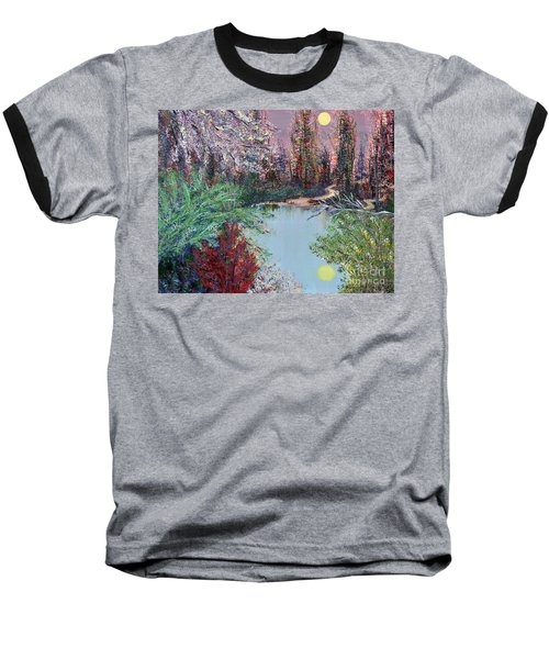 Lake Tranquility Baseball T-Shirt