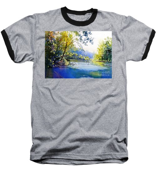Lake View 2  Baseball T-Shirt