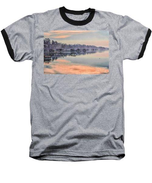 Lake Waccamaw Morning Baseball T-Shirt