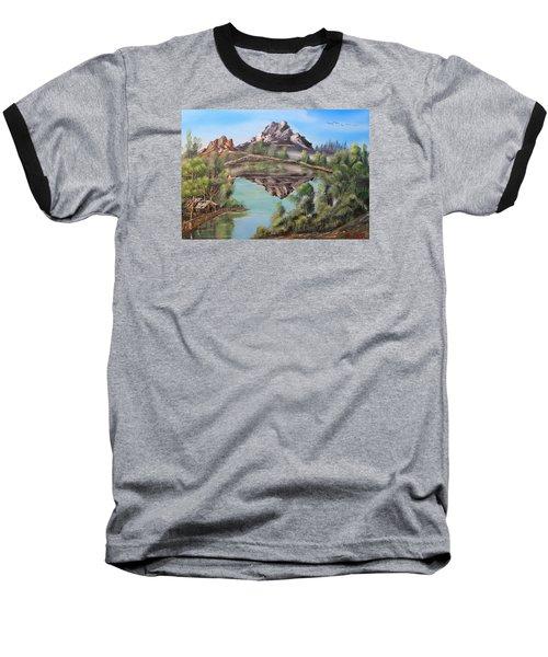 Lakehouse Baseball T-Shirt by Remegio Onia