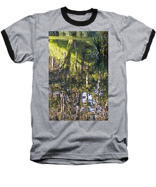 Baseball T-Shirt featuring the photograph Lakeshore Reflections by Kate Brown