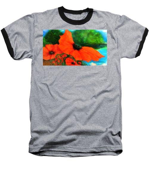 Lakeside Bloom Baseball T-Shirt