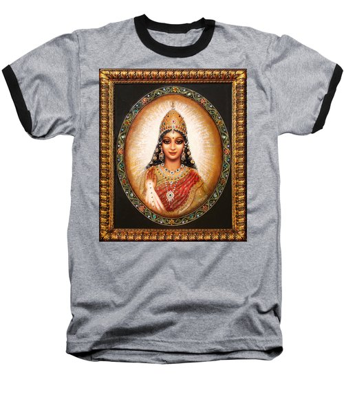 Lakshmi Goddess Of Abundance Baseball T-Shirt by Ananda Vdovic