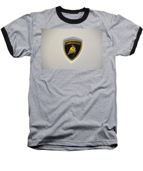 Lamborghini Badge Baseball T-Shirt