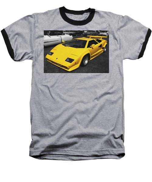 Lamborghini Countach Baseball T-Shirt