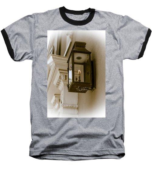 Baseball T-Shirt featuring the photograph Lamp Unto My Feet by Sennie Pierson