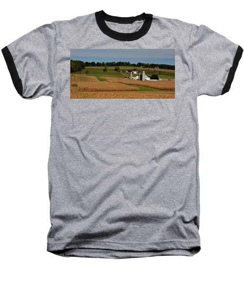 Lancaster County Farm Baseball T-Shirt