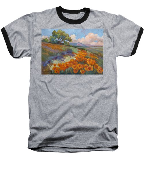 Land Of Sunshine Baseball T-Shirt by Diane McClary
