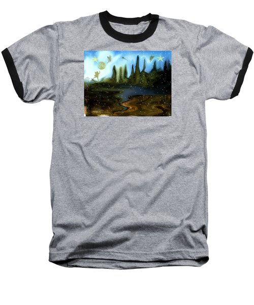 Land Of The Fairies  For Kids Baseball T-Shirt by Sherri's Of Palm Springs