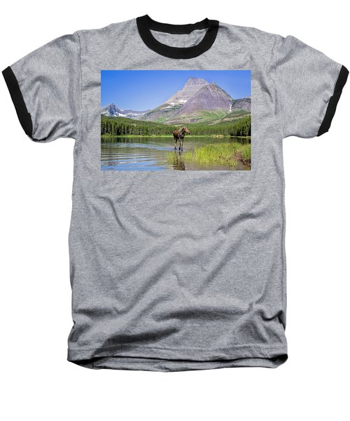 Land Of The Moose Baseball T-Shirt