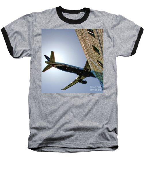 Landing By Diana Sainz Baseball T-Shirt