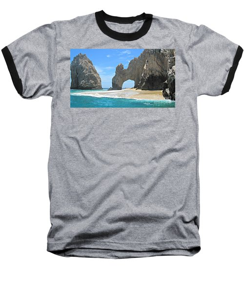 Lands End  Baseball T-Shirt by Marilyn Wilson