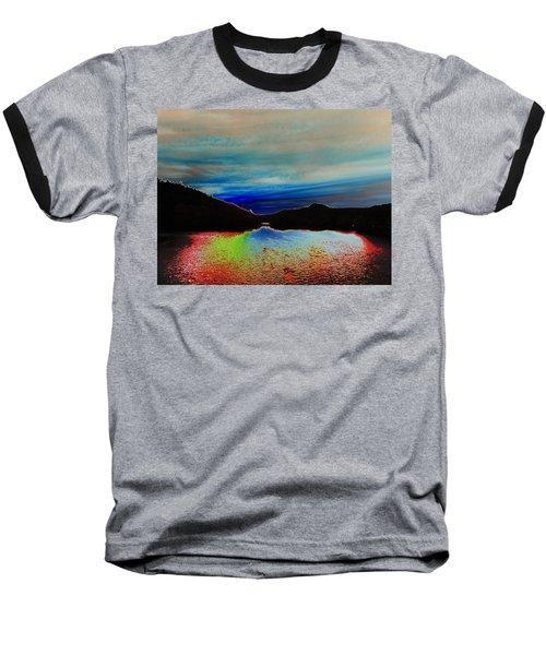 Landscape Abstract Baseball T-Shirt