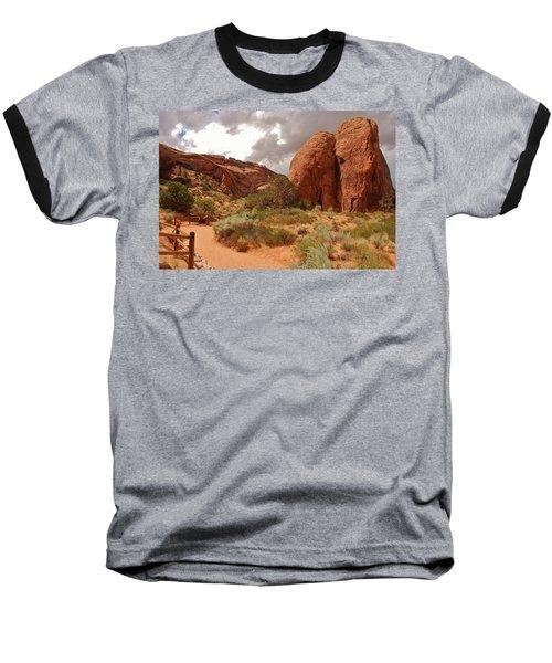 Landscape Arch - Utah Baseball T-Shirt