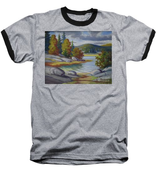 Landscape From Finland Baseball T-Shirt