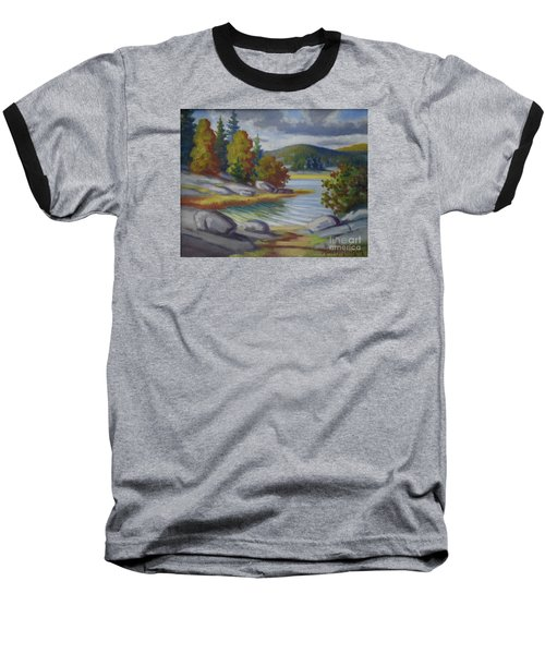 Landscape From Finland Baseball T-Shirt