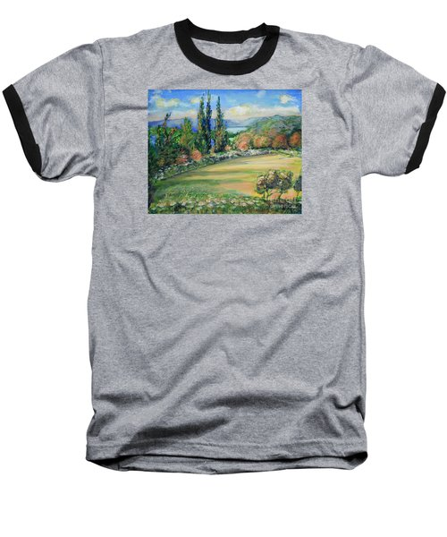 Landscape From Kavran Baseball T-Shirt