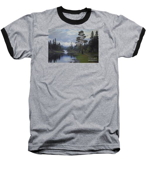 Landscape From Norway Baseball T-Shirt