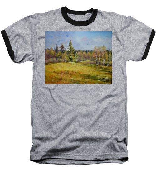 Landscape From Pyhajarvi Baseball T-Shirt