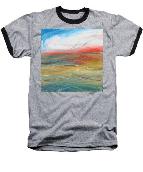 Landscape I Baseball T-Shirt by Sheridan Furrer
