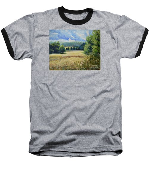 Landscape Near Russian Border Baseball T-Shirt