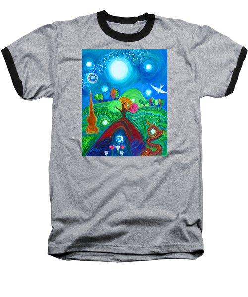 Landscape Of Ancient Dreams Baseball T-Shirt