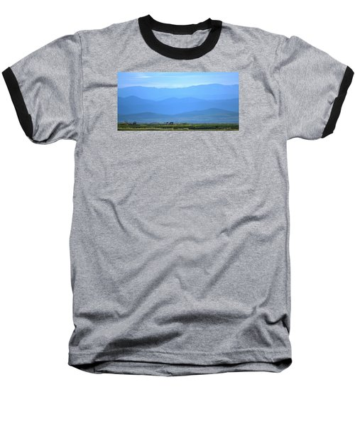 Baseball T-Shirt featuring the photograph landscape of North CA by Rima Biswas