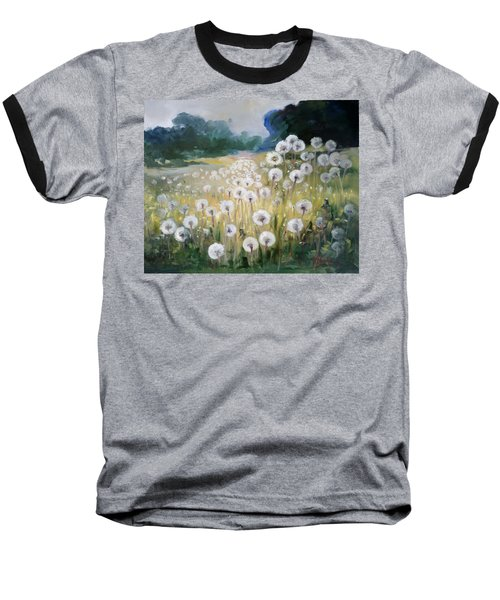 Lanscape With Blow-balls Baseball T-Shirt