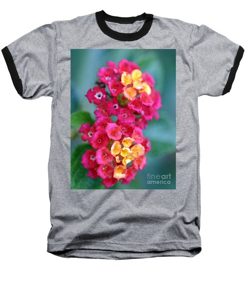 Baseball T-Shirt featuring the photograph Lantana by Henrik Lehnerer