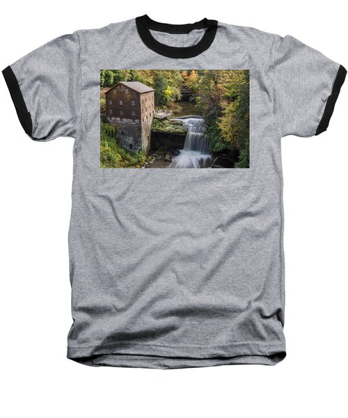 Baseball T-Shirt featuring the photograph Lantermans Mill by Dale Kincaid