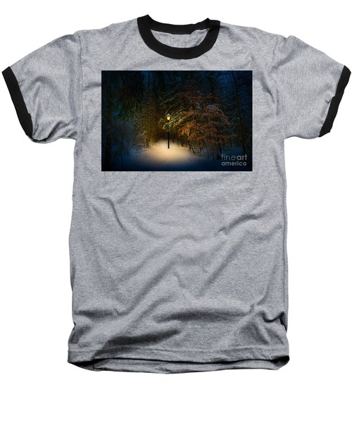Lantern In The Wood Baseball T-Shirt