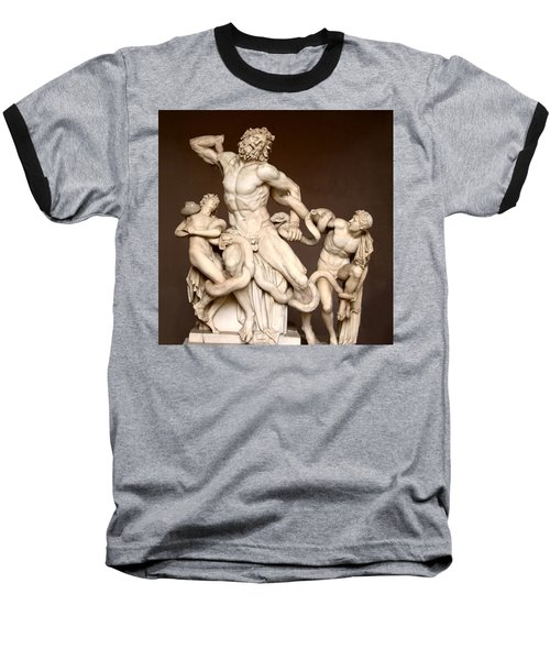 Laocoon And Sons Baseball T-Shirt by Ellen Henneke
