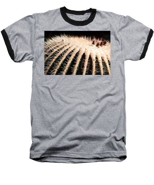 Large Cactus Ball Baseball T-Shirt