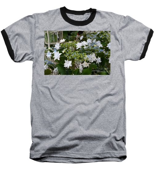 Baseball T-Shirt featuring the photograph Shooting Star Bouquet by Jeannie Rhode