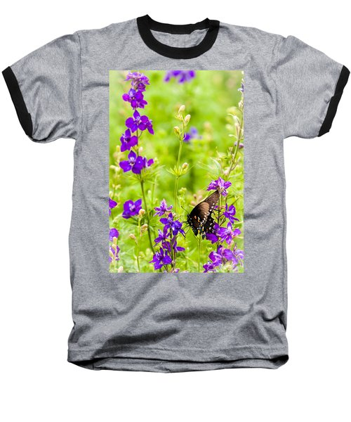 Larkspur Visitor Baseball T-Shirt