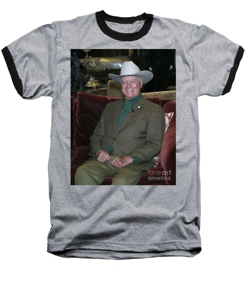 Larry Hagman Baseball T-Shirt
