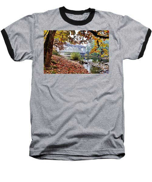 Larwood Covered Bridge Baseball T-Shirt