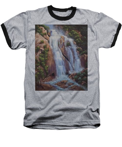 Las Brisas Falls Huatuco Mexico Baseball T-Shirt