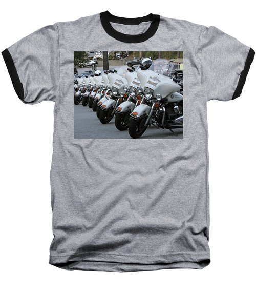 Baseball T-Shirt featuring the photograph La's Finest by Shoal Hollingsworth