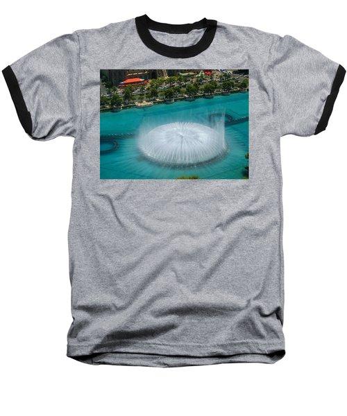 Baseball T-Shirt featuring the photograph Las Vegas Orb by Angela J Wright