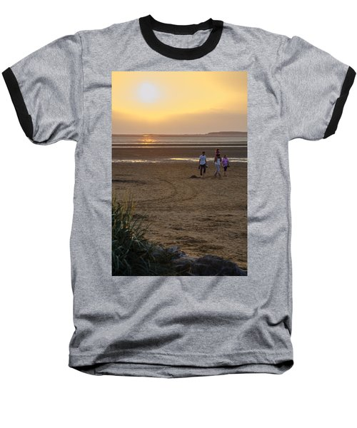 Last Colourful Days Of Summer Baseball T-Shirt by Spikey Mouse Photography
