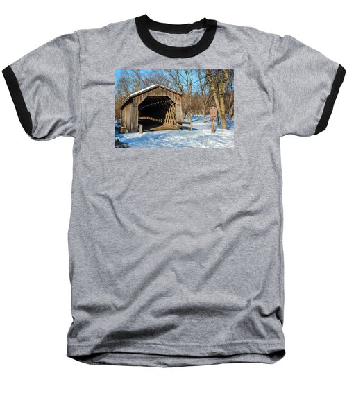 Last Covered Bridge Baseball T-Shirt