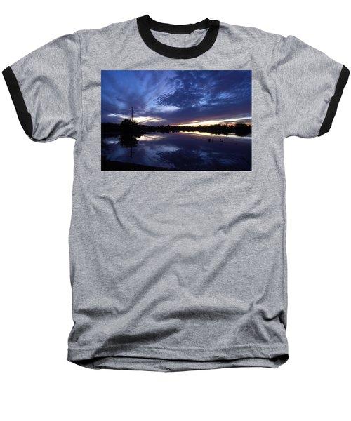 Baseball T-Shirt featuring the photograph Last Light by Tam Ryan
