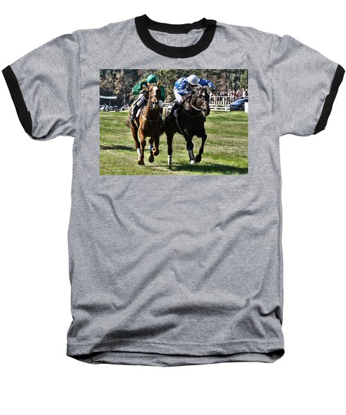 Last One To The Finish Line Is A Rotten Egg Baseball T-Shirt