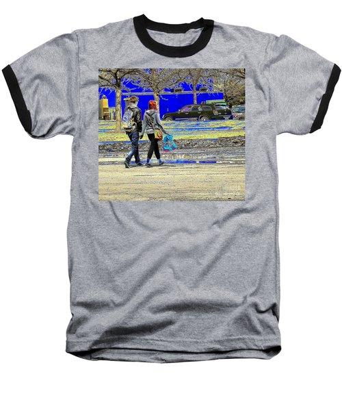 Last Stop Before Home Baseball T-Shirt