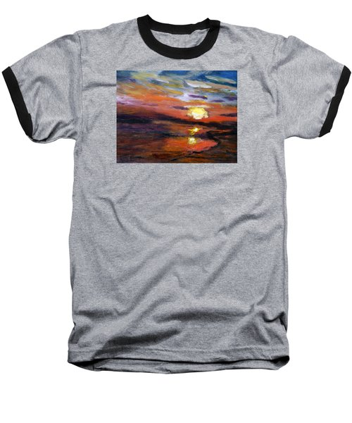 Last Sun Of Day Baseball T-Shirt
