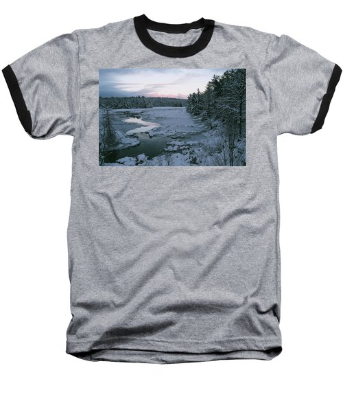 Baseball T-Shirt featuring the photograph Late Afternoon In Winter by David Porteus
